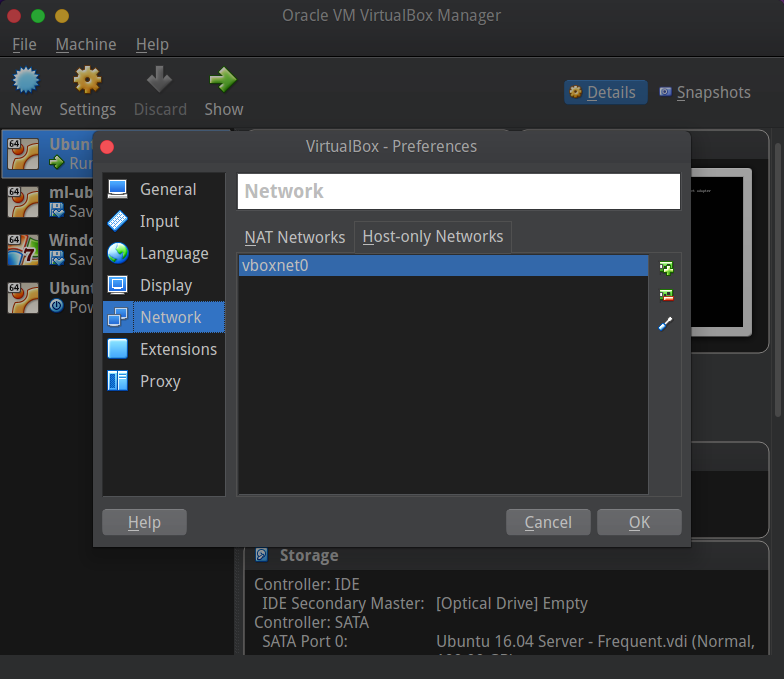 Smart virtualbox configuration with static IP and DHCP for internet