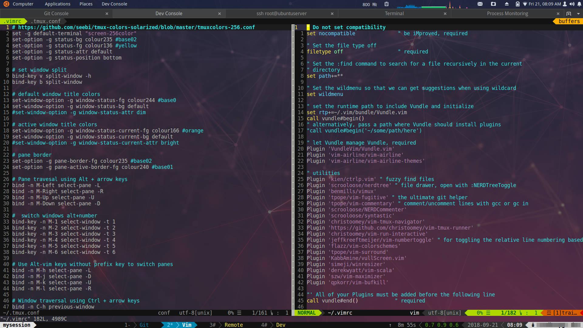 Development system setup based on Ubuntu and Gnome – MICROIDEATION