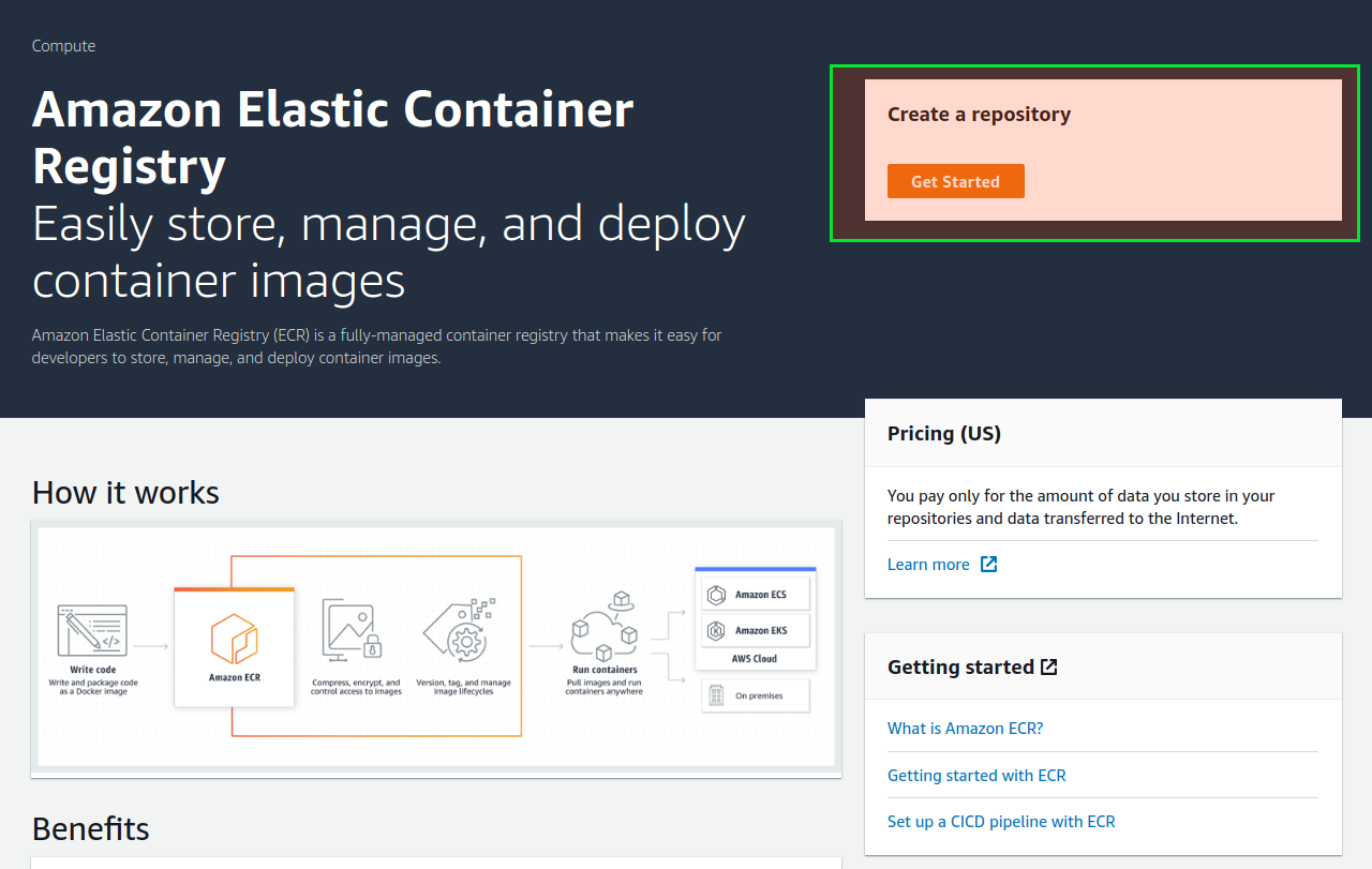 Configuring AWS ECR as docker registry in Centos server – MICROIDEATION
