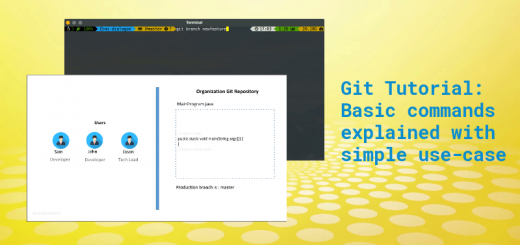 Git commands tutorial